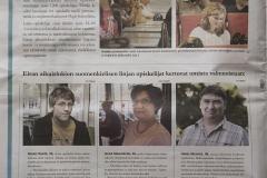 Metro lehden sivuilla Eiran aikuislukion mainos 30.08.11